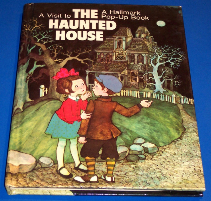 59 best pop up books images on pinterest artist 39 s book for Classic haunted house novels