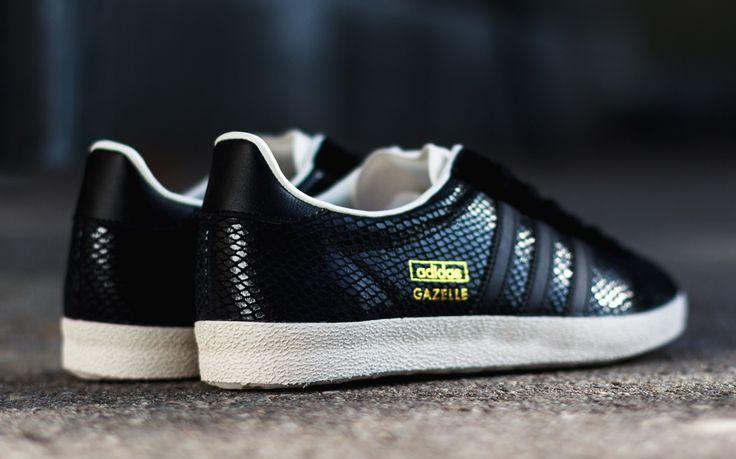 Adidas Gazelle Black Leather