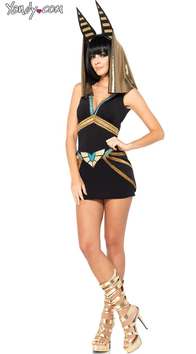 Sexy Egyptian Sphinx Costume, Anubis Costume, Egyptian Dog ...