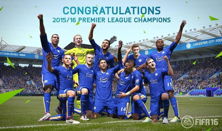 FIFA 16 Leicester City Premier League Winners FUT Squad Builder