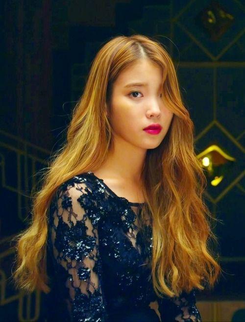 IU YELLOW Color Hair