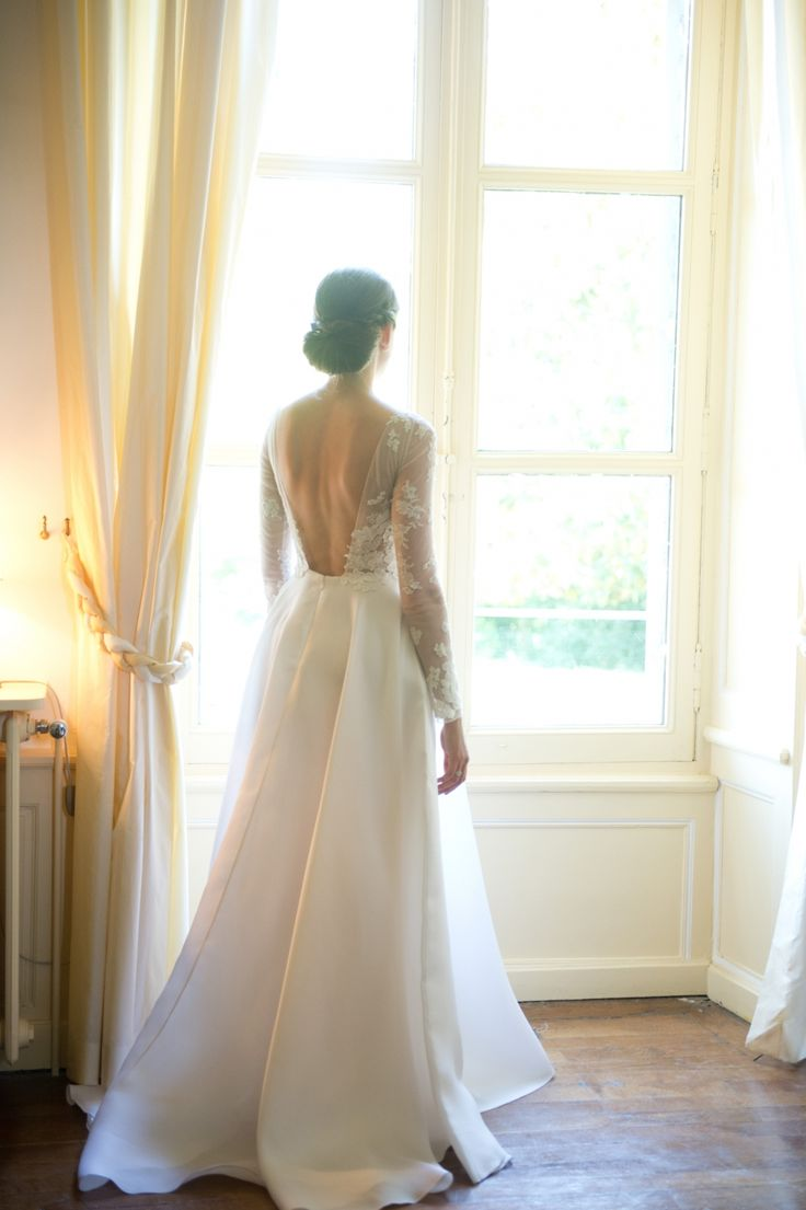 Wedding dress Margaux Tardits French Couture 2015