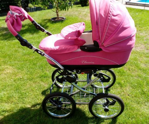Knorr Classico pink Kombikinderwagen & Sportwagensparen25.info , sparen25.com