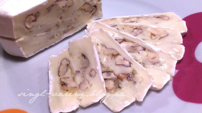 Plněný hermelín | Singl kuchyňka slečny Lenky