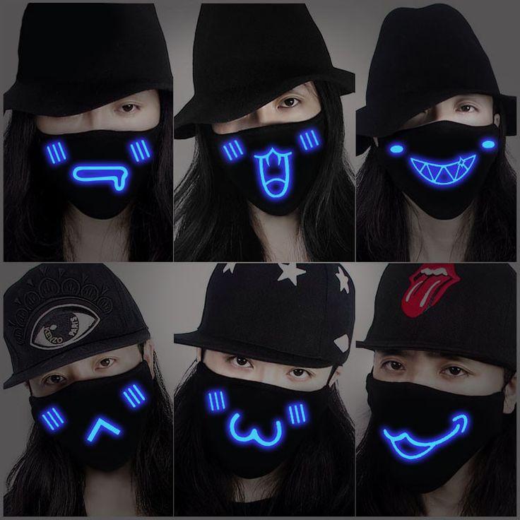 Harajuku luminous mask