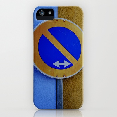 The Sign / Color Swap iPhone Case by Rainer Steinke - $35.00