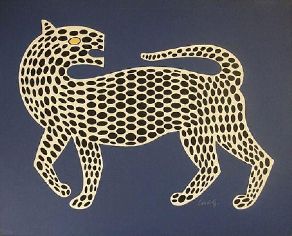 Victor Vasarely, Leopard                                                                                                                                                     Plus