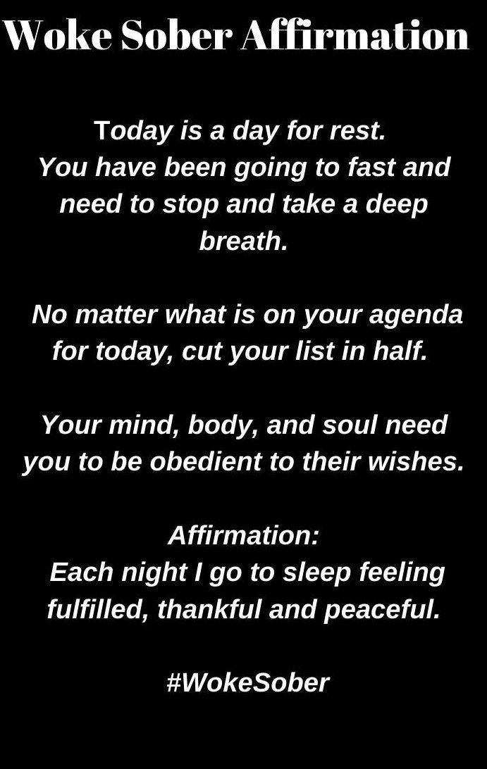 Affirmation Each Night I Go To Sleep Feeling Fulfilled Thankful Bestatigung Jede Nacht Gehe Ich Schlafen Und Fuhle Mich Erful Affirmations Sober Sober Living