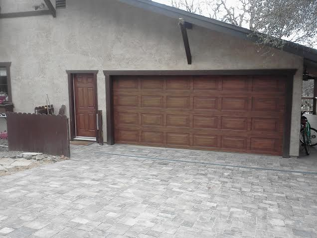 Instantly transform the look of your house and add major curb appeal with our Faux Wood painting for your garage doors!   Real wood garage doors are a beautiful upgrade to any home. Unfortunat…