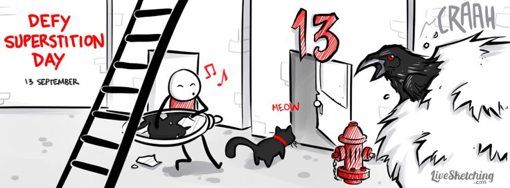 13 september defy superstition day today we encourage for 13th floor superstition