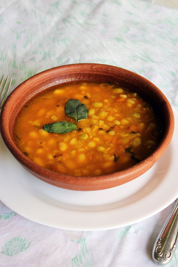 Recipe of Porotos Granados (cranberry beans stew - Chilean recipe). A delicious plate commonly prepared in Chile.