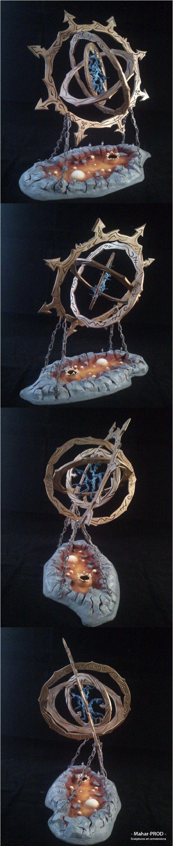 Gyroscopic Chaos Portal by Mahar