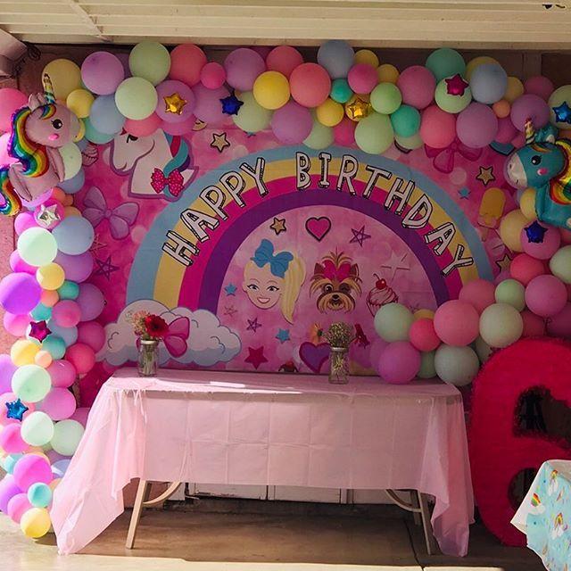 Fiesta Tematica De Jojo Siwa Como Decorar Una Fiesta Infantil De Jojo Siwa 5th Birthday Birthday Party