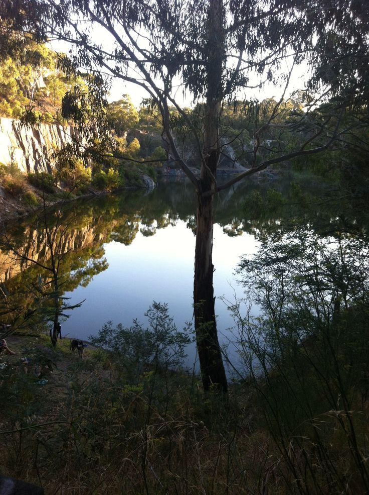 Plenty gorge swimming hole