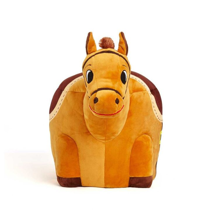 Animal Zuzu Plush Horse Stool