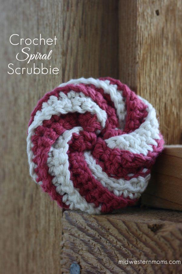 Crochet Dish Scrubbie - Midwestern Moms