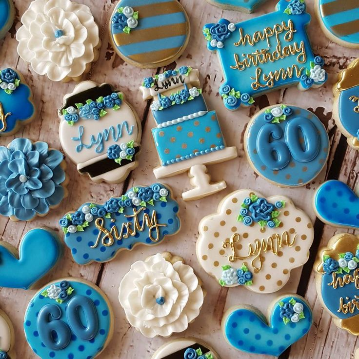 983 Best Birthday & Celebration Cookies Images On
