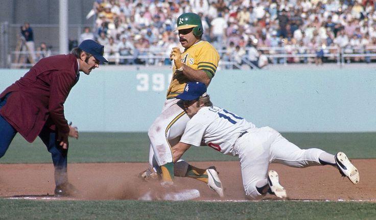 Sal Bando & Ron Cey 1974 World Series Oakland