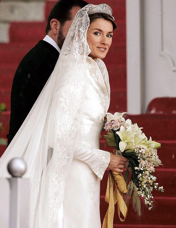 Los inolvidables ramos de novia de las Princesas europeas