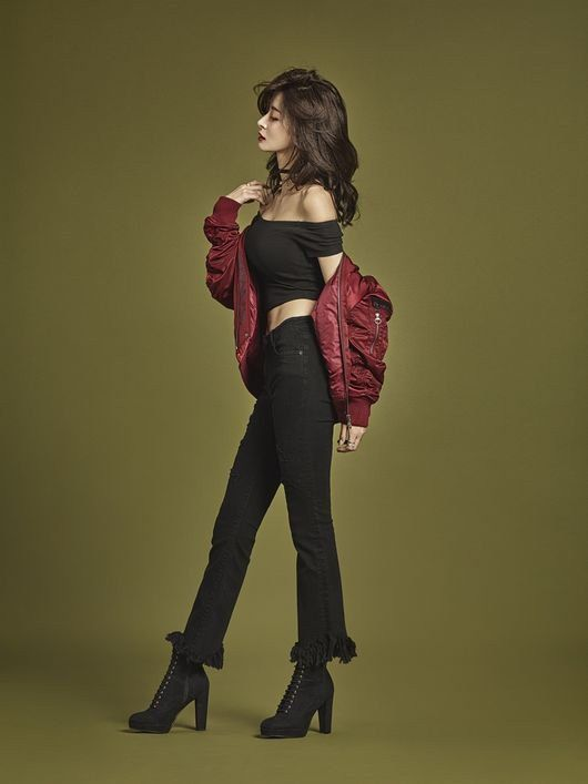 Hello Venus Member Nara Models Buckaroo Denim Jeans   Koogle TV