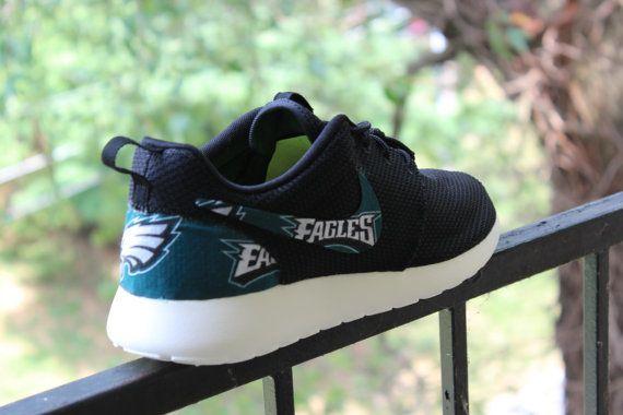 Philadelphia Eagles Nike Roshe Run by GrabbKicks on Etsy
