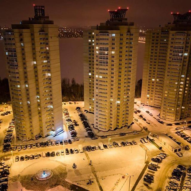 Зимние виды Воронежа. Интересные места зимой