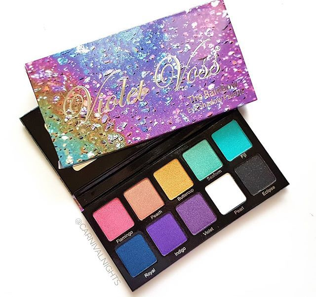Violet Voss Rainbow Palette With Images Hooded Eye Makeup