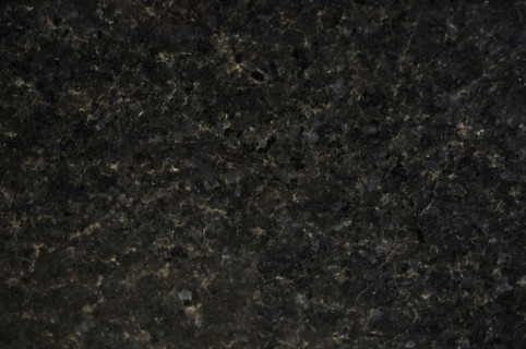 """3/4"""" Black Pearl kitchen & bathroom  Granite is a natural product no two pieces identical  color & grain will vary"""