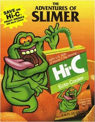 Ecto Cooler. In every '80s lunch box.
