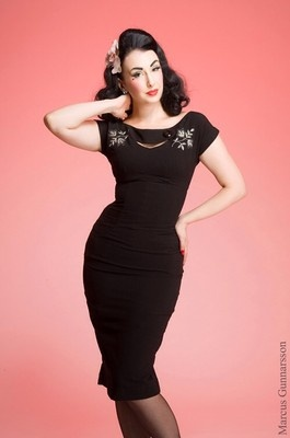 Sierra Geisha Dress/ Bettie Page Clothing