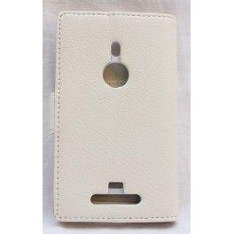 Lumia 925 valkoinen lompakkokotelo