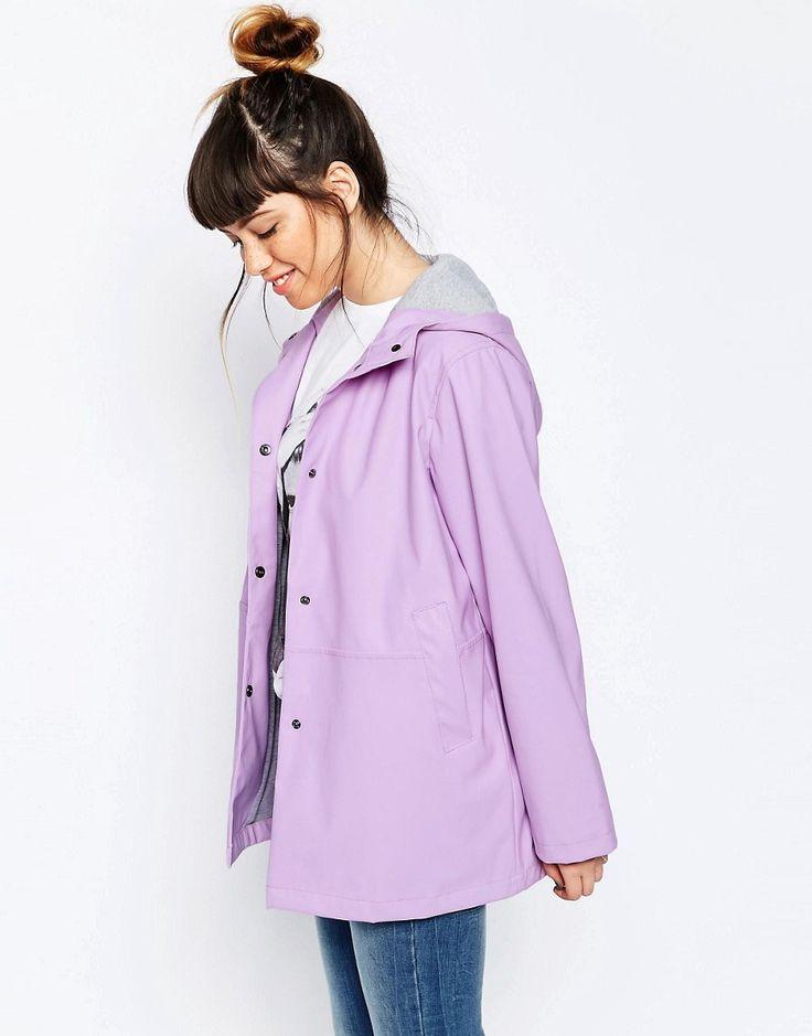 Lilac Rain Coat