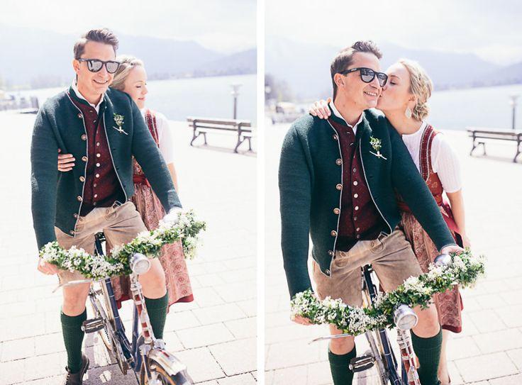 Marion & Michael am wunderschönen Tegernsee - Hochzeitsfotograf Landshut