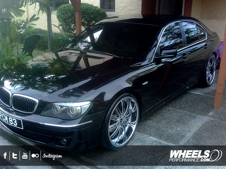 Our Client S Bmw 750li With 22 Quot Mht Forged Mirage Wheels