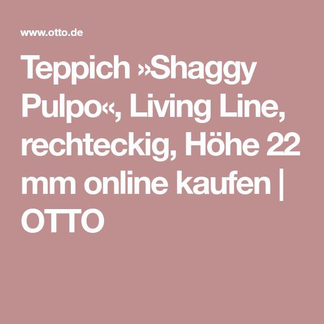 Teppich »Shaggy Pulpo«, Living Line, rechteckig, Höhe 22 mm online kaufen   OTTO