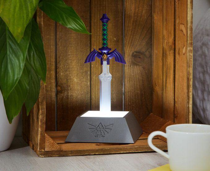 The Legend Of Zelda Master Sword Lamp Zelda Master Sword