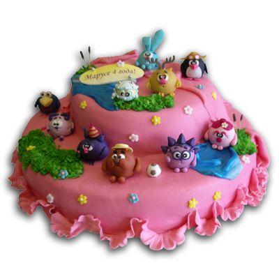 Сказочные детские торты с драконами