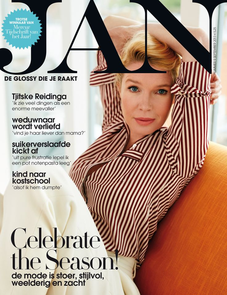 Tjitske Reidinga | Cover JAN Magazine 9-2013