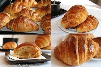 Croissant sfogliati di Luca Montersino