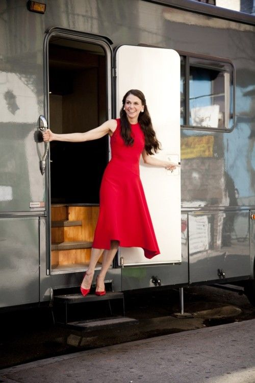 I want to be Sutton Foster when I grow up. If only I could act. Or dance. Or sing...