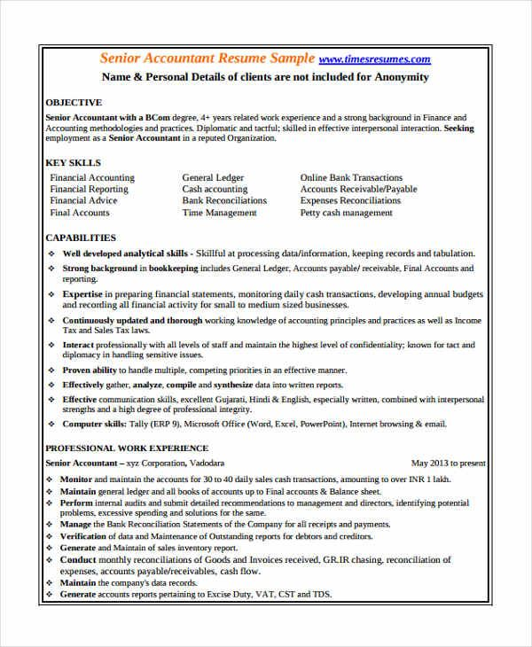 Template Net 24 Accountant Resume Templates In Pdf Free Premium Templates 6a2b8335 Resumesample Resume Objective Statement Accountant Resume Resume Objective