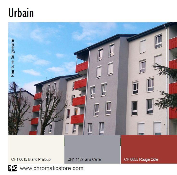 Les 26 meilleures images propos de chromatic en facade for Nuancier couleur facade