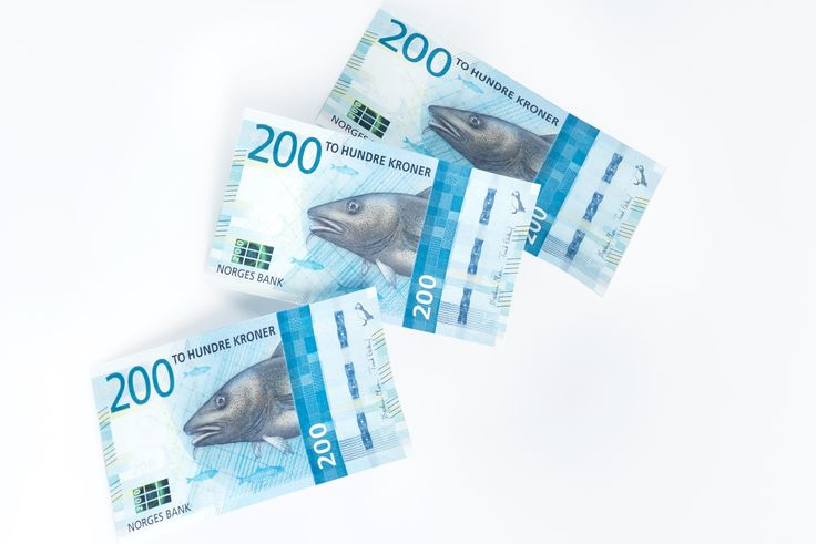 "Norway's New ""The cod is coming"" Banknotes"