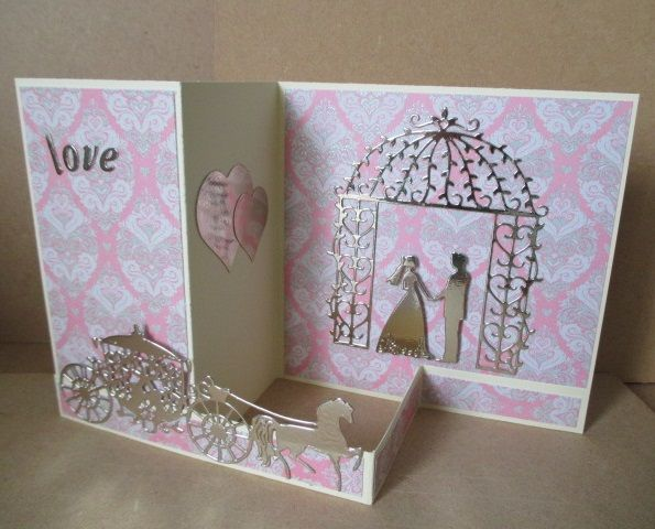 Splitcoaststampers FOOGallery - wedding card