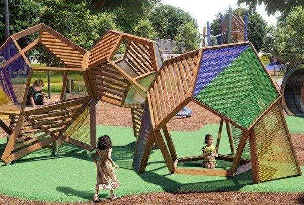 48 Spectacular Diy Yard Playground Landscaping Concepts