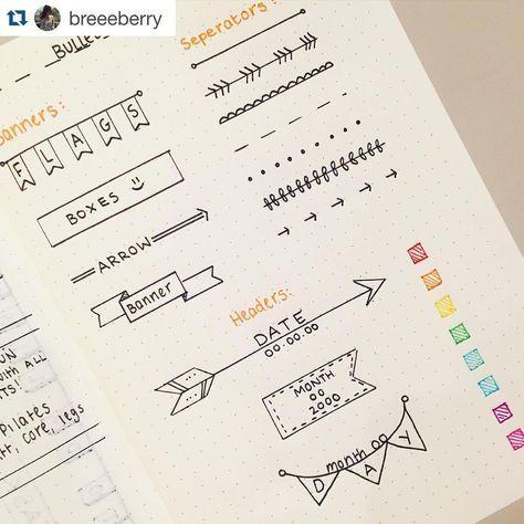 Headers & Separators for pretty hand writing