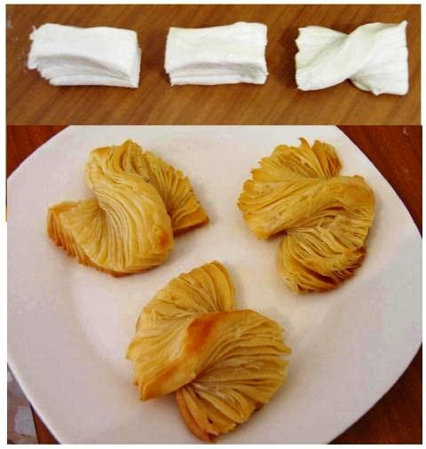 Easy puff pastry