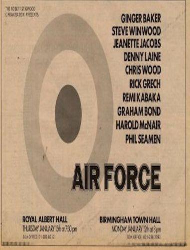 Ginger-Baker-Graham-Bond-Steve-Winwood-Denny-Laine-UK-show-Advert-1970