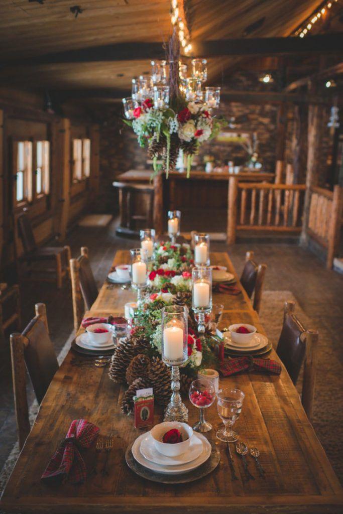 35 Awesome Festive Christmas Theme Winter Wedding Ideas Elegantweddinginvites Com Blog Rustic Winter Wedding Winter Wedding Venues Christmas Wedding Decorations