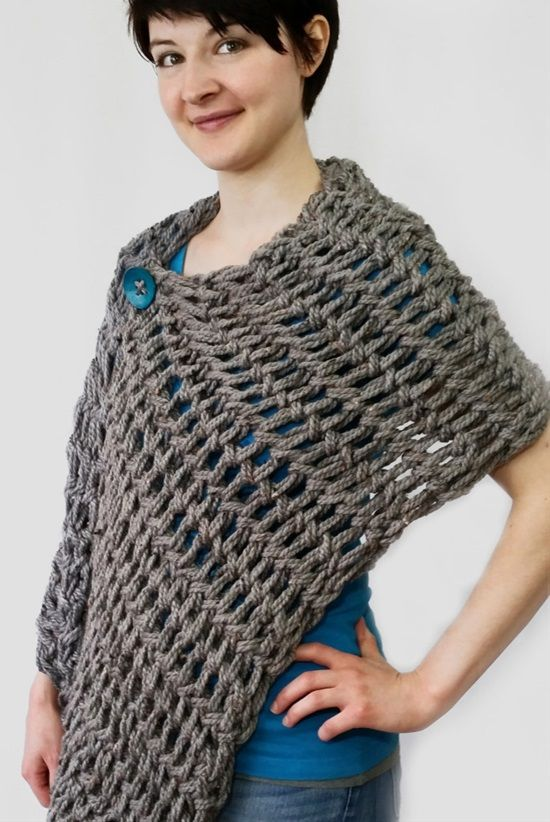 Spring Mountain Shawl